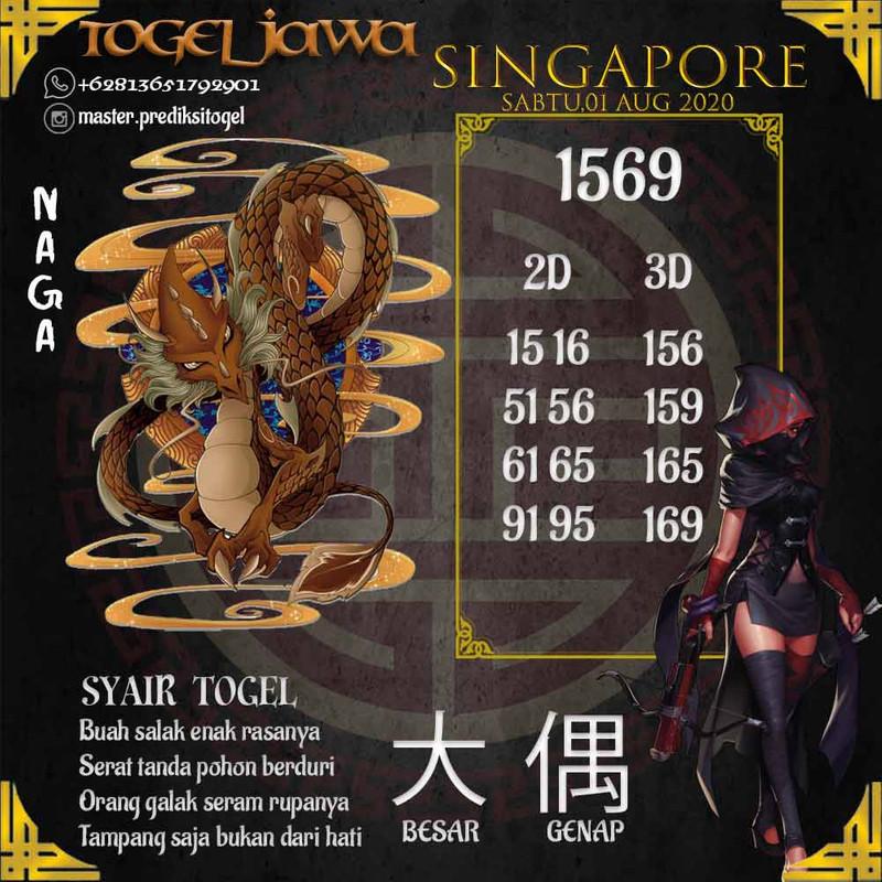 Prediksi Singapore Tanggal 2020-08-01