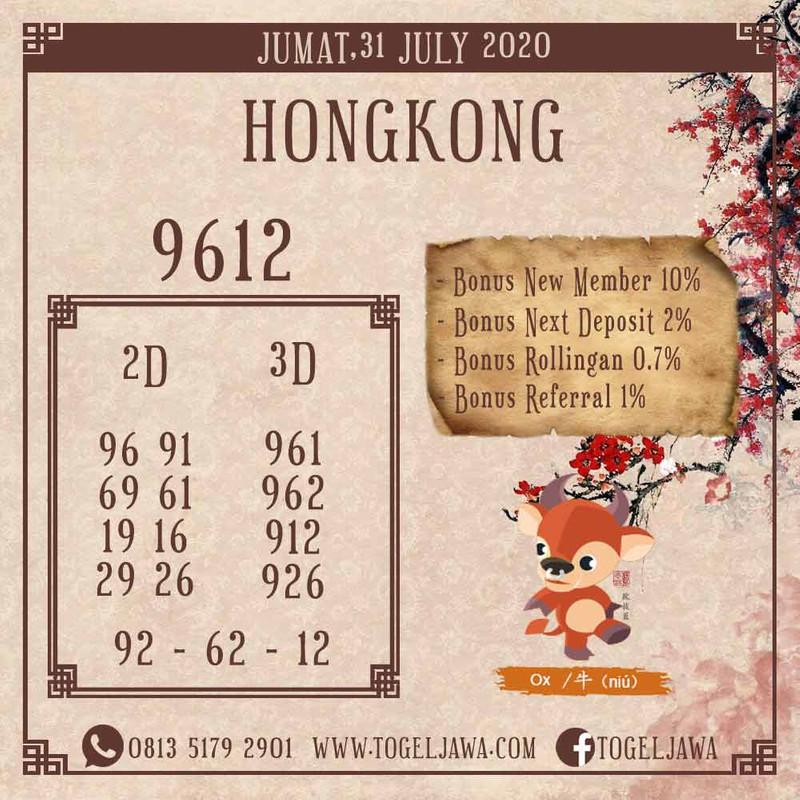 Prediksi Hongkong Tanggal 2020-07-31
