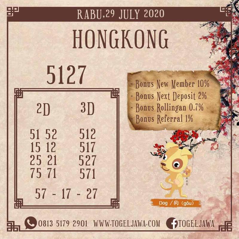 Prediksi Hongkong Tanggal 2020-07-29