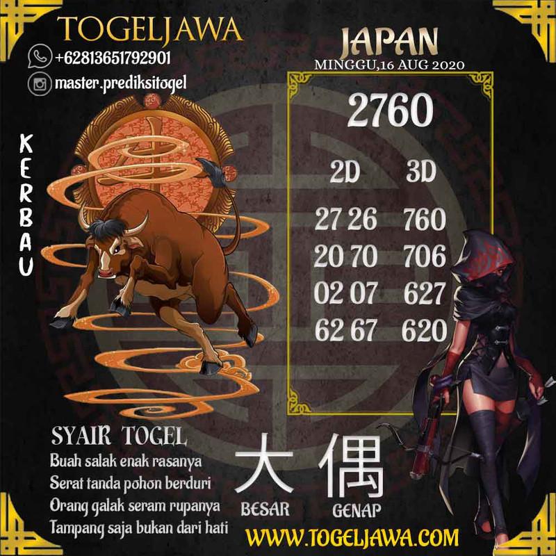 Prediksi Japan Tanggal 2020-08-16