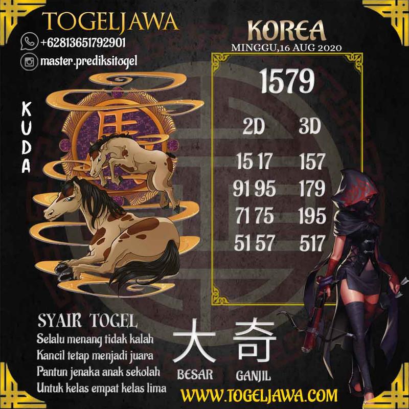 Prediksi Korea Tanggal 2020-08-16