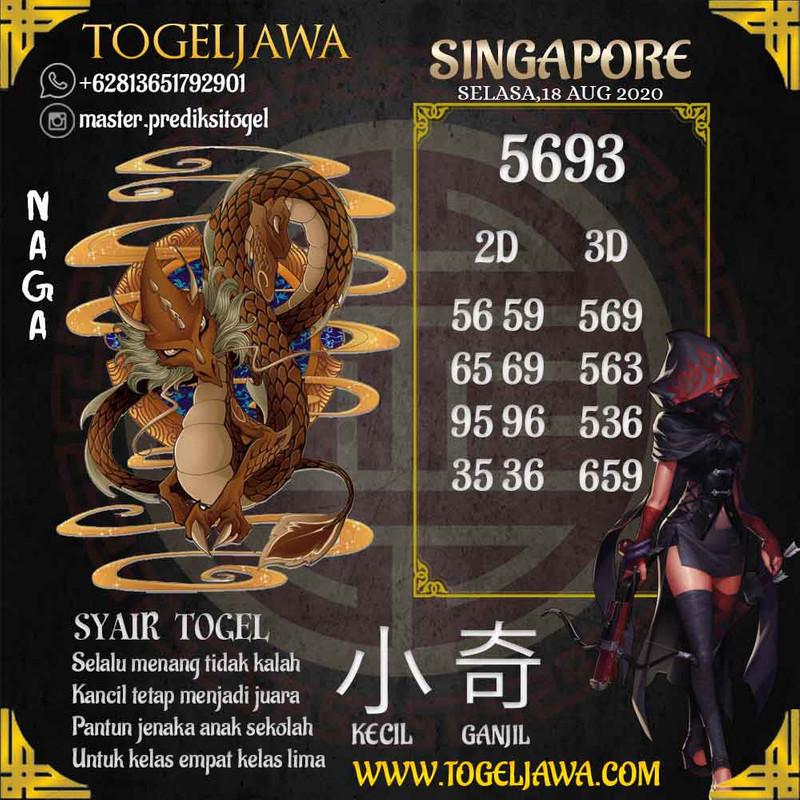 Prediksi Singapore Tanggal 2020-08-18