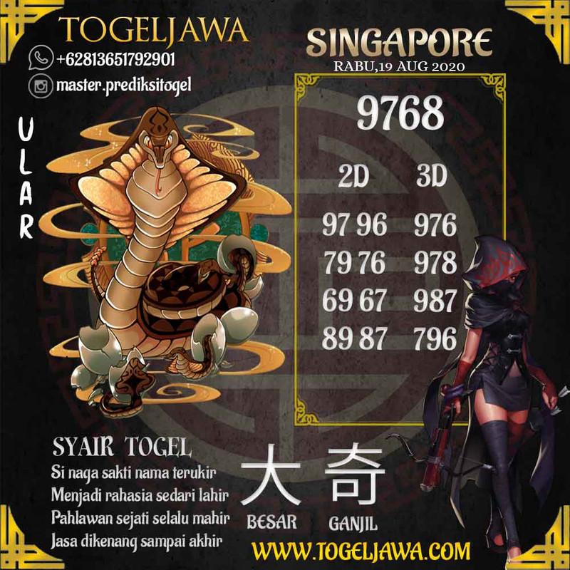 Prediksi Singapore Tanggal 2020-08-19