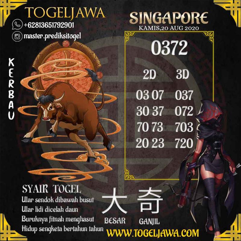 Prediksi Singapore Tanggal 2020-08-20