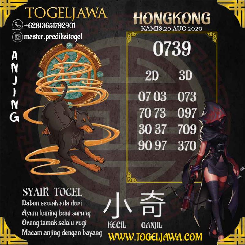 Prediksi Hongkong Tanggal 2020-08-20