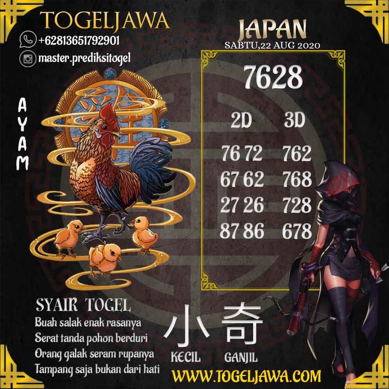 Prediksi Japan Tanggal 2020-08-22