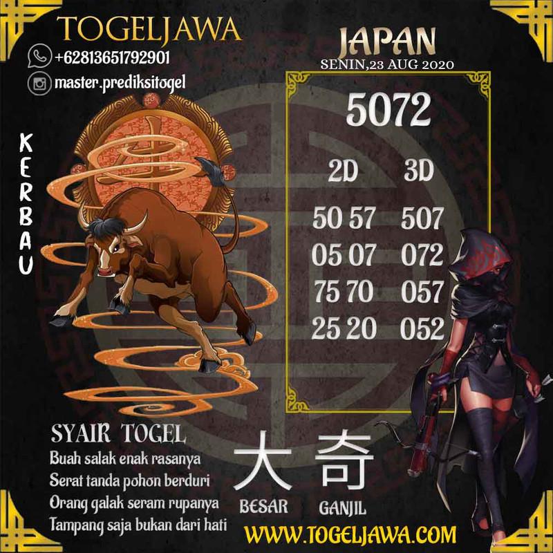 Prediksi Japan Tanggal 2020-08-23