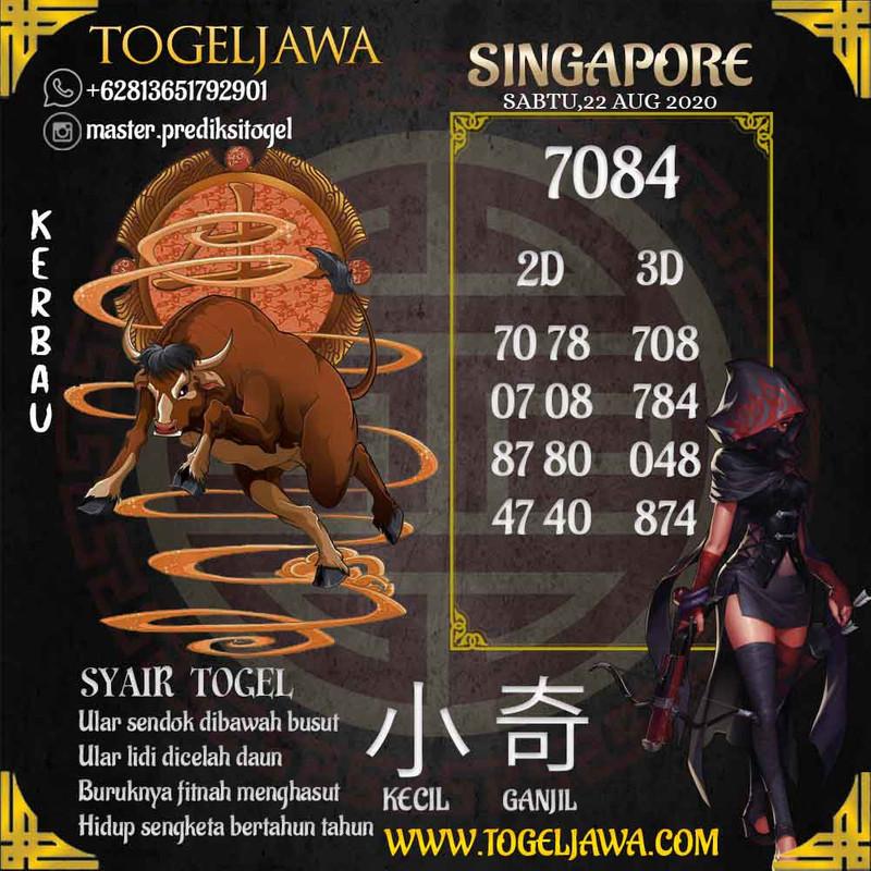 Prediksi Singapore Tanggal 2020-08-22