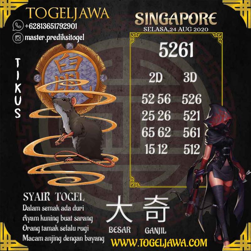 Prediksi Singapore Tanggal 2020-08-24