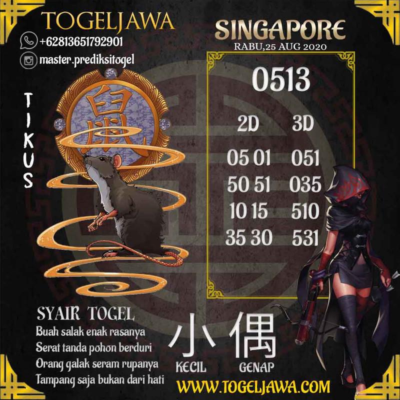 Prediksi Singapore Tanggal 2020-08-25
