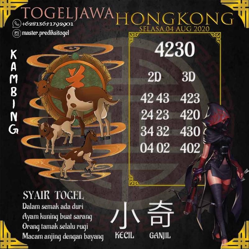 Prediksi Hongkong Tanggal 2020-08-04
