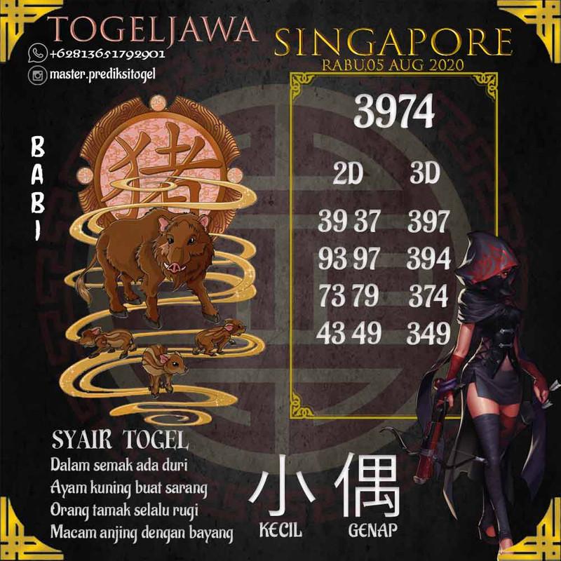 Prediksi Singapore Tanggal 2020-08-05