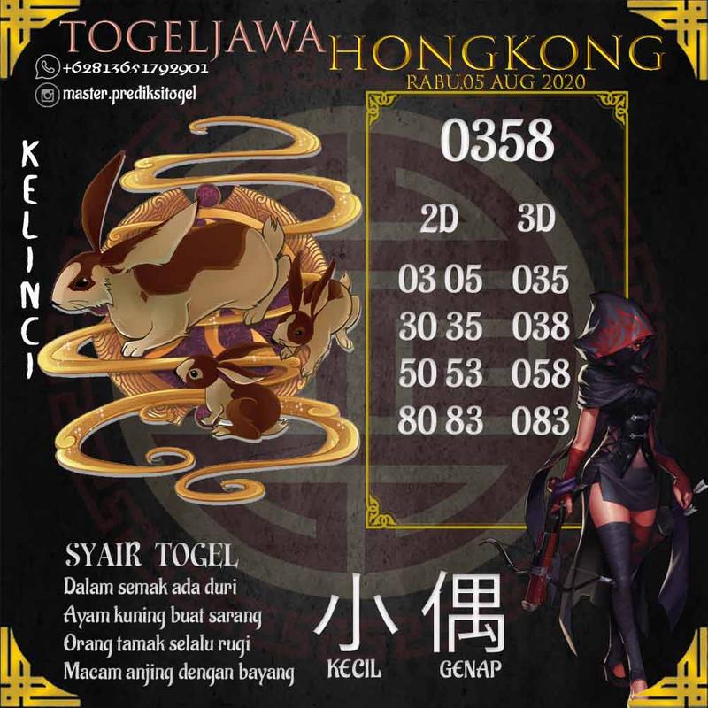 Prediksi Hongkong Tanggal 2020-08-05