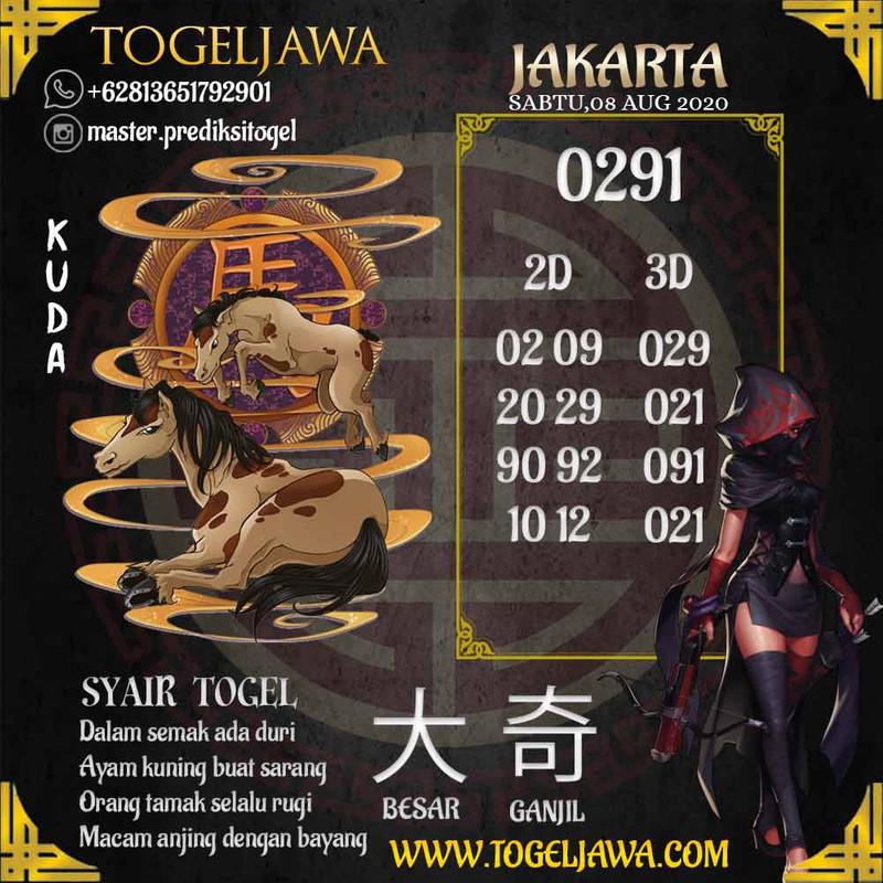 Prediksi Jakarta Tanggal 2020-08-08