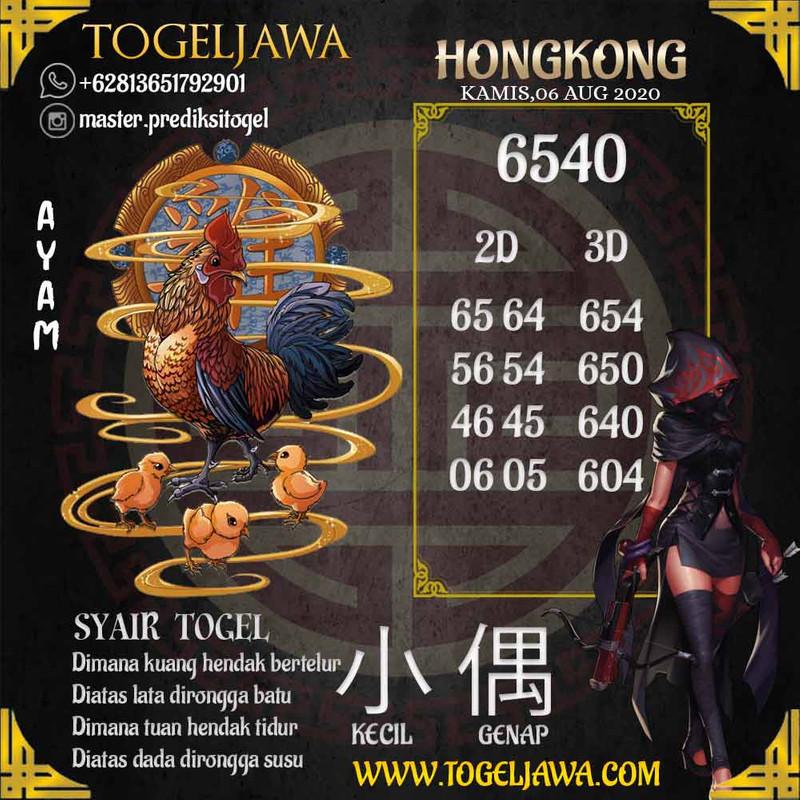Prediksi Hongkong Tanggal 2020-08-06