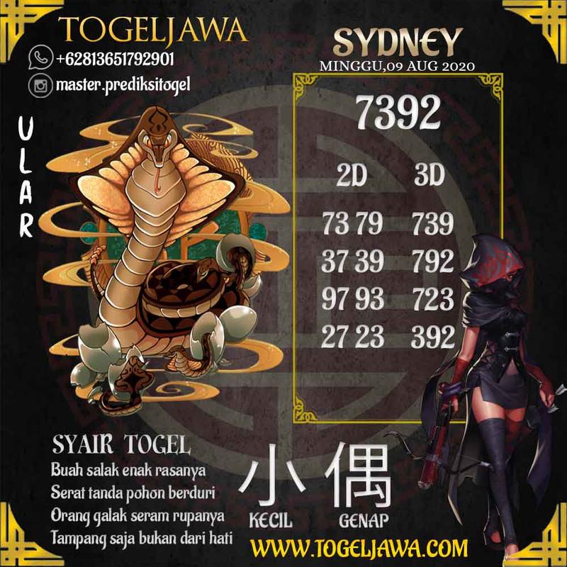 Prediksi Sydney Tanggal 2020-08-09