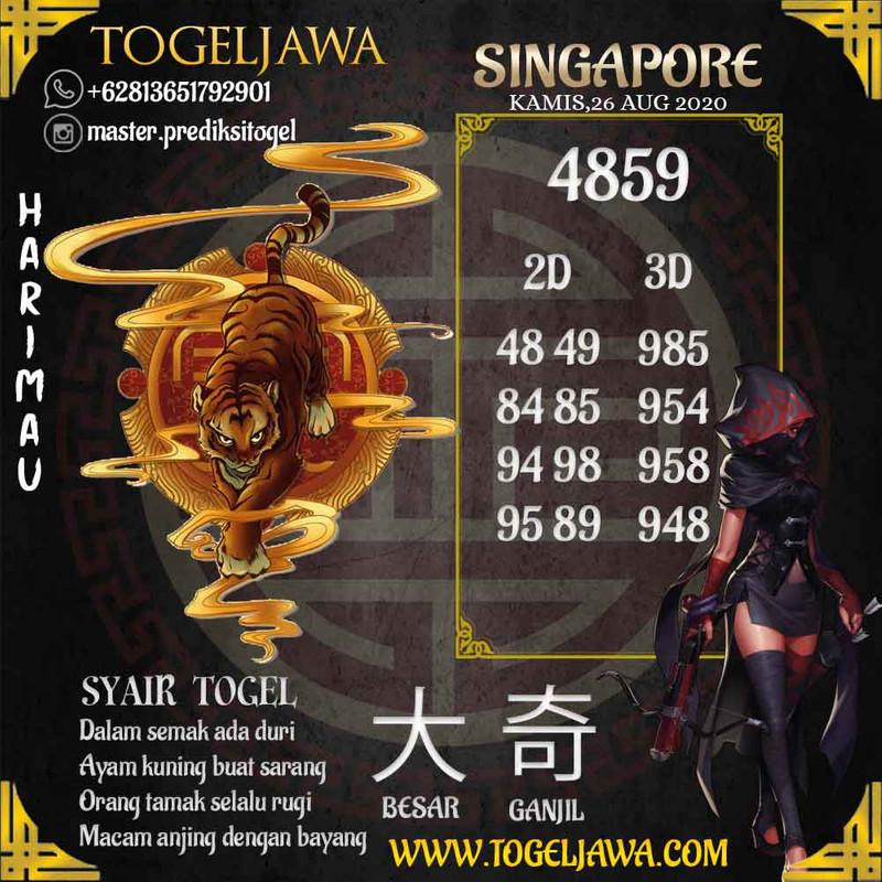 Prediksi Singapore Tanggal 2020-08-26