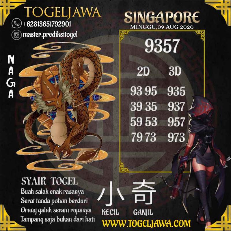Prediksi Singapore Tanggal 2020-08-09