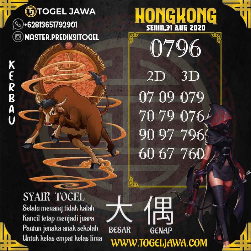 Prediksi Hongkong Tanggal 2020-08-31