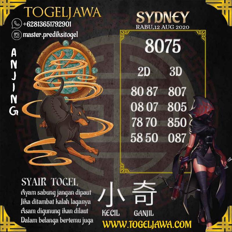 Prediksi Sydney Tanggal 2020-08-12