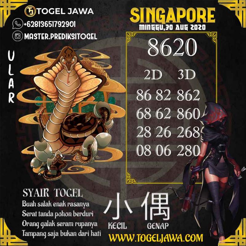 Prediksi Singapore Tanggal 2020-08-30