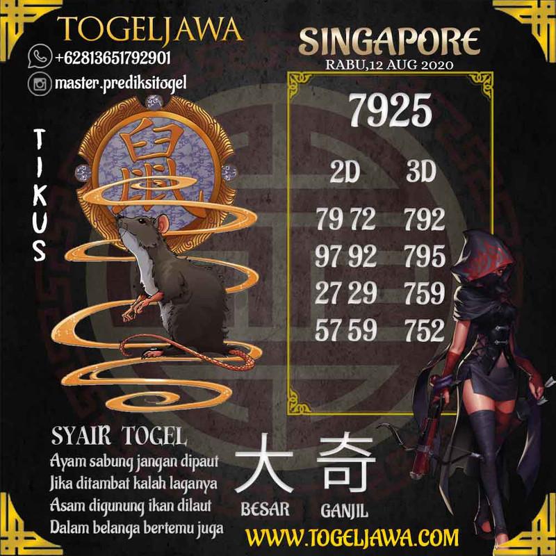 Prediksi Singapore Tanggal 2020-08-12