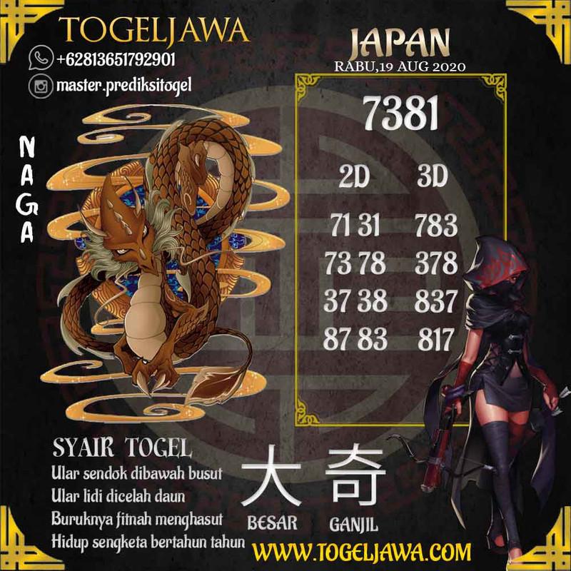 Prediksi Japan Tanggal 2020-08-19