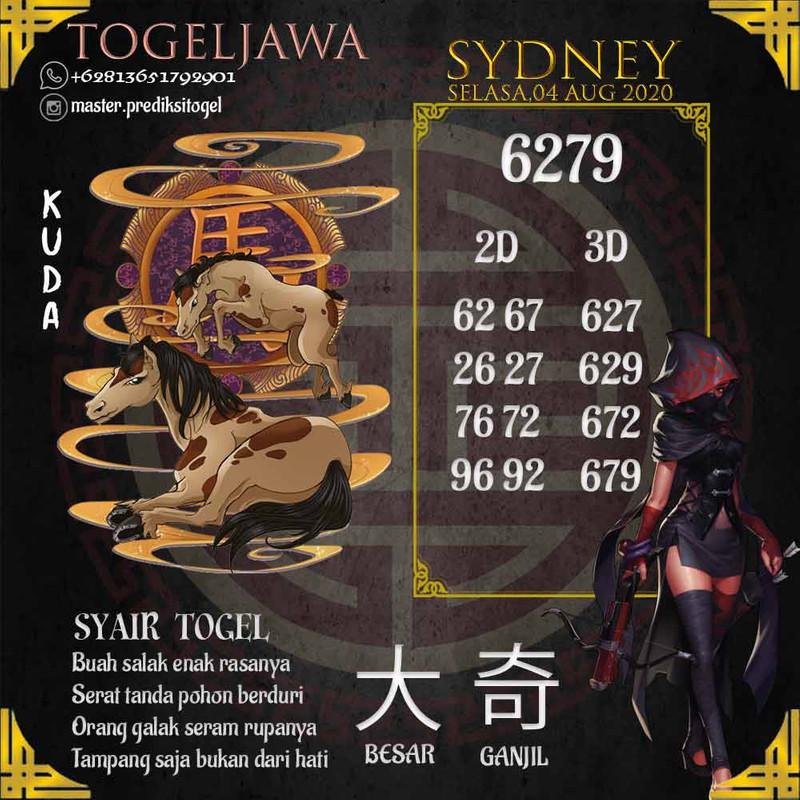 Prediksi Sydney Tanggal 2020-08-04