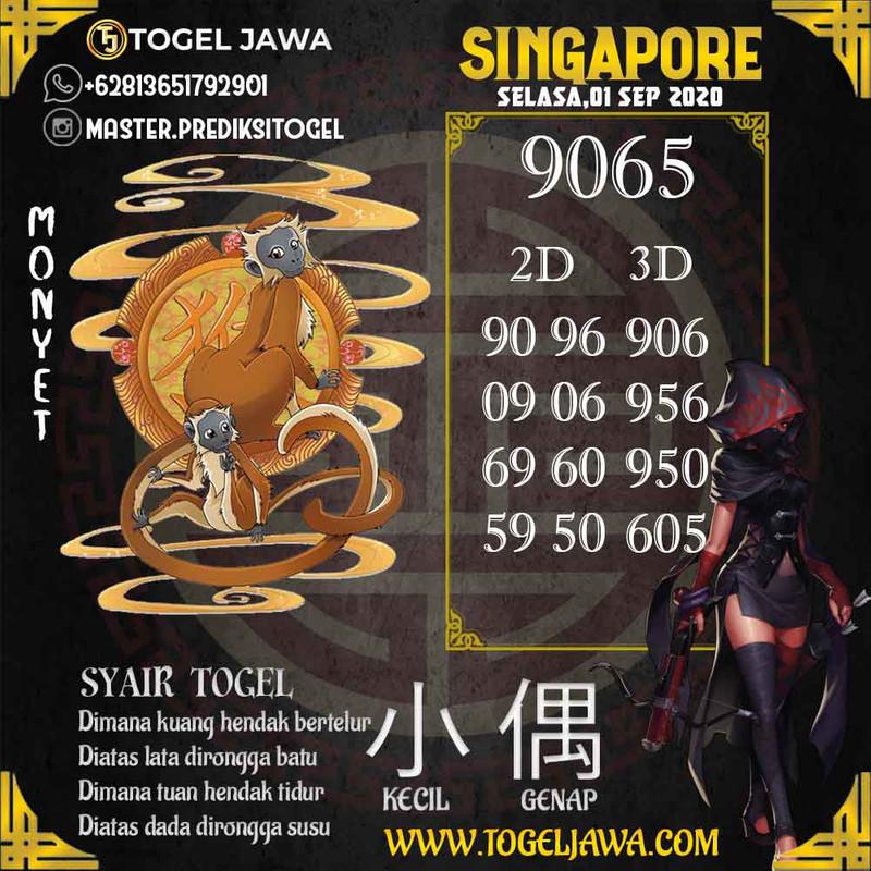 Prediksi Singapore Tanggal 2020-09-01