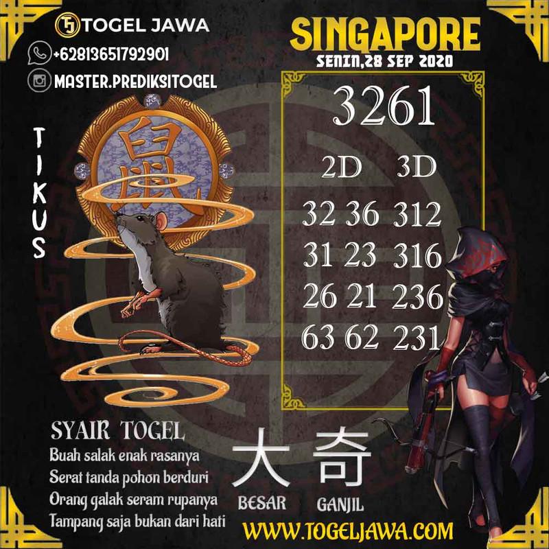 Prediksi Singapore Tanggal 2020-09-28