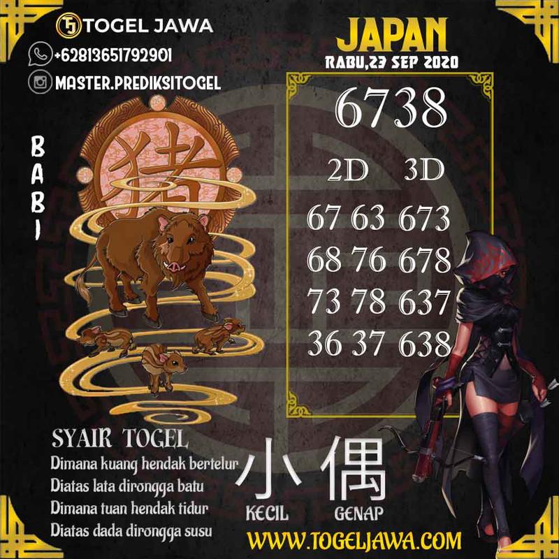 Prediksi Japan Tanggal 2020-09-23