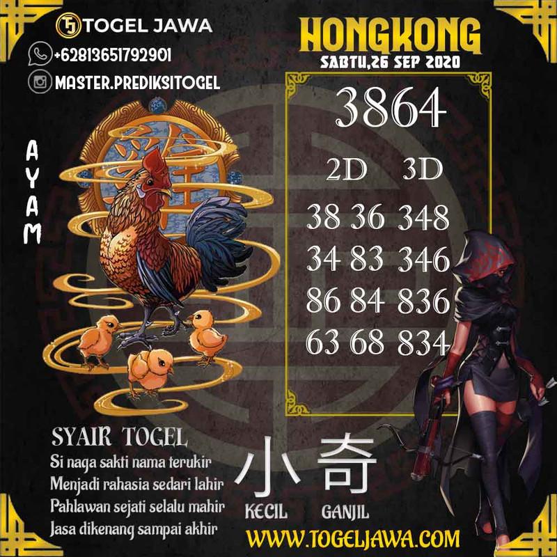 Prediksi Hongkong Tanggal 2020-09-26
