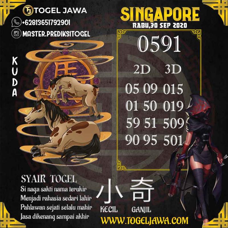 Prediksi Singapore Tanggal 2020-09-30