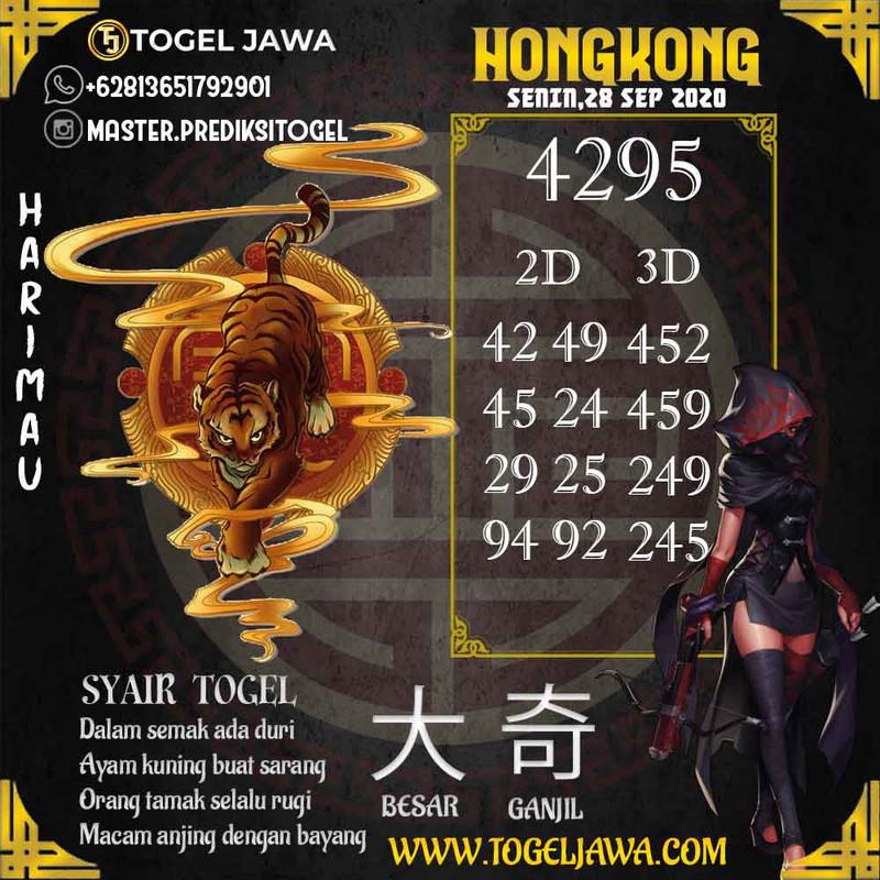 Prediksi Hongkong Tanggal 2020-09-28
