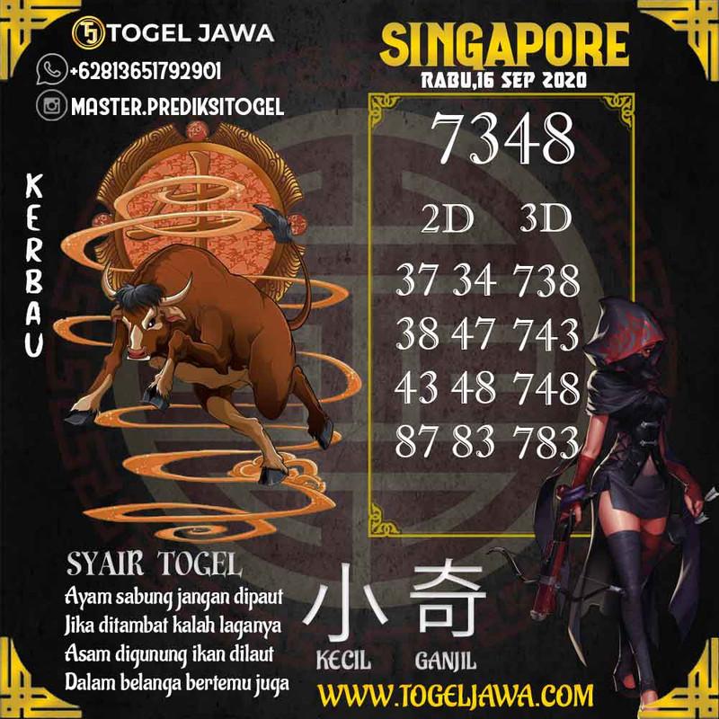 Prediksi Singapore Tanggal 2020-09-16