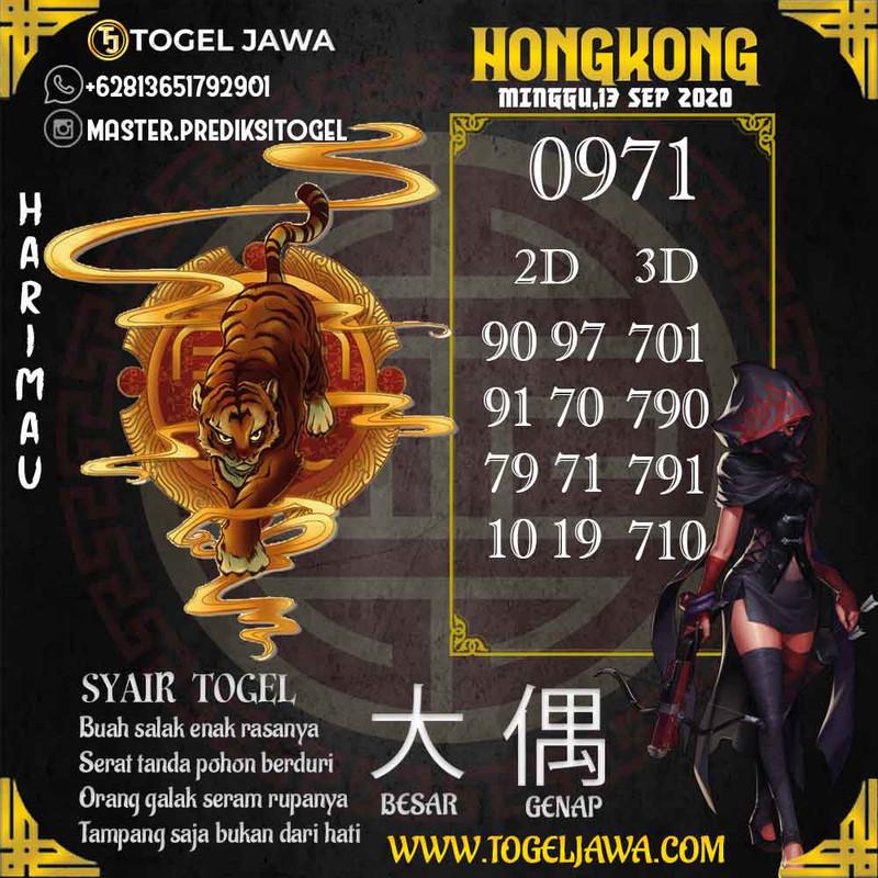 Prediksi Hongkong Tanggal 2020-09-13