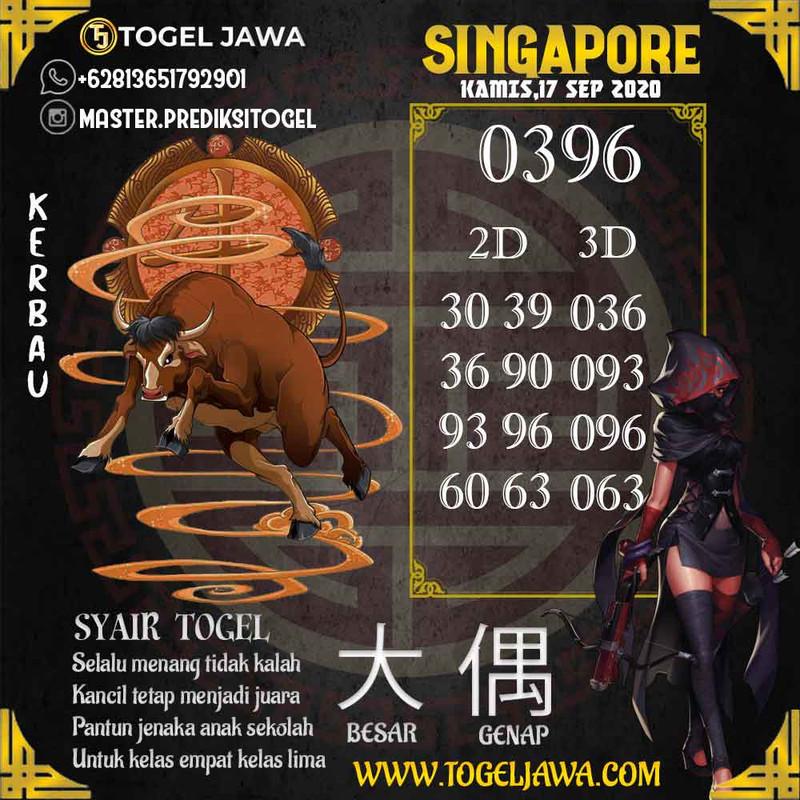 Prediksi Singapore Tanggal 2020-09-17