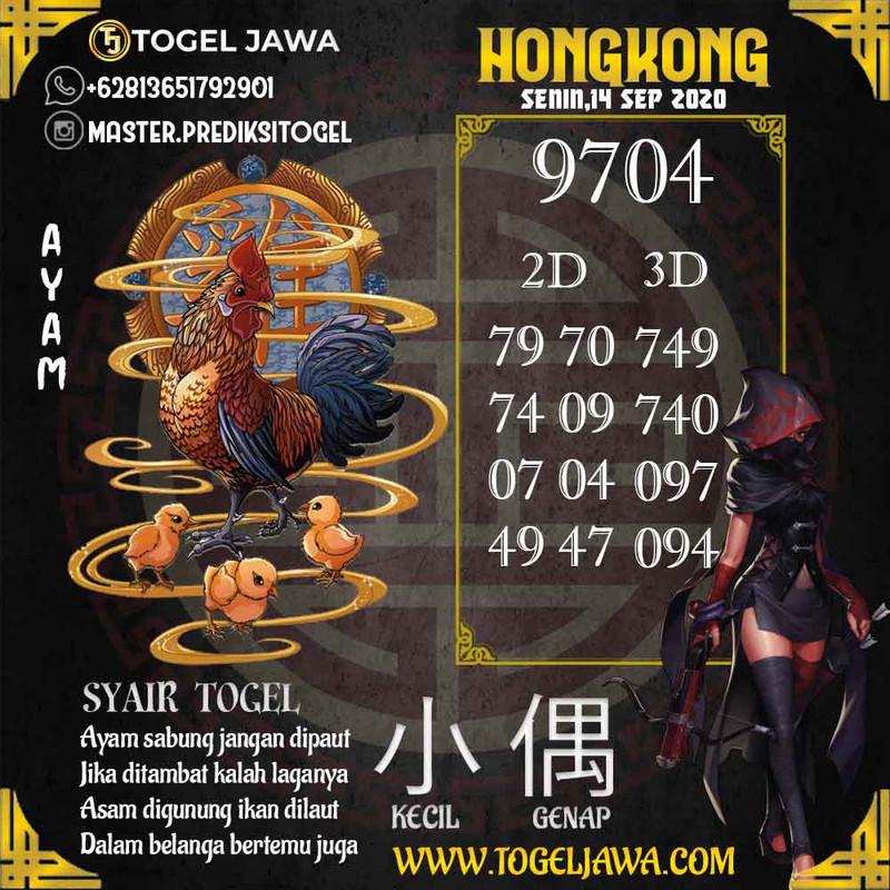 Prediksi Hongkong Tanggal 2020-09-14