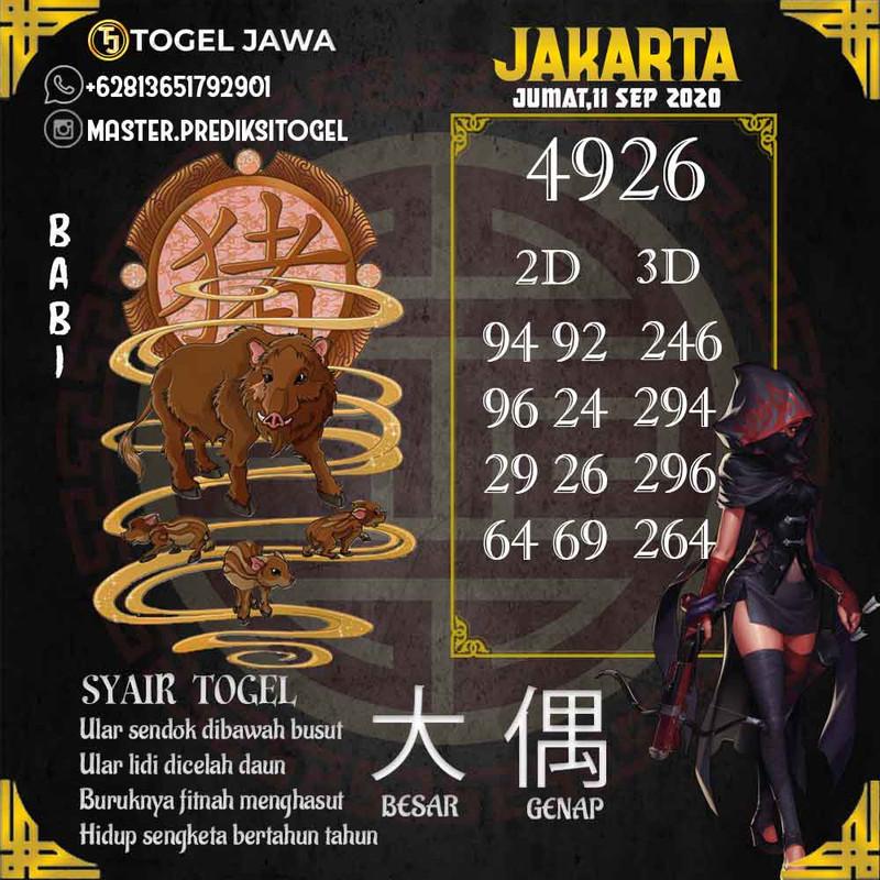 Prediksi Japan Tanggal 2020-09-11