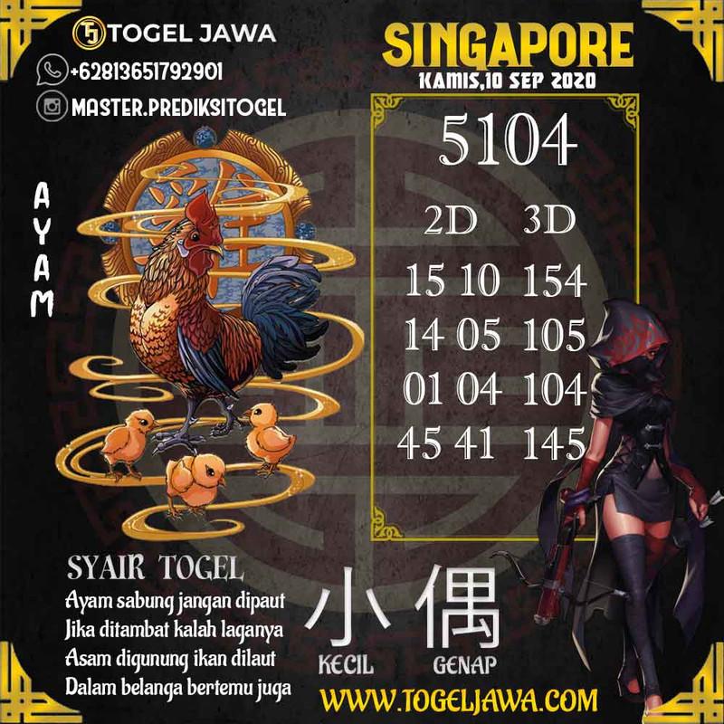 Prediksi Singapore Tanggal 2020-09-10