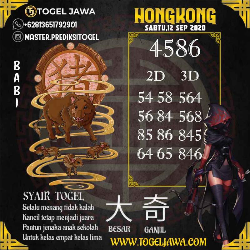 Prediksi Hongkong Tanggal 2020-09-12
