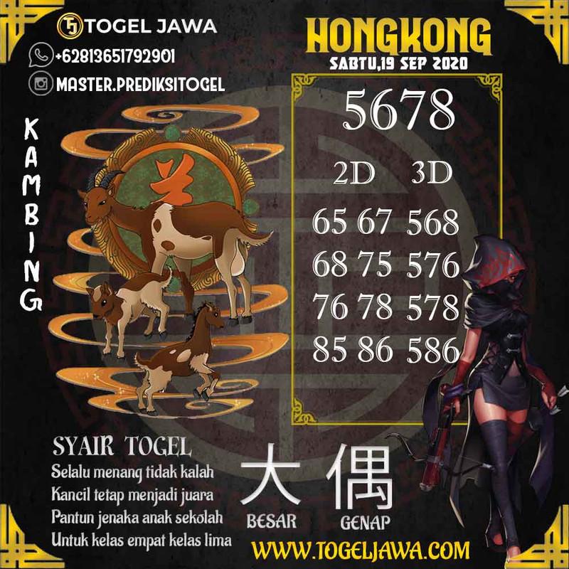 Prediksi Hongkong Tanggal 2020-09-19