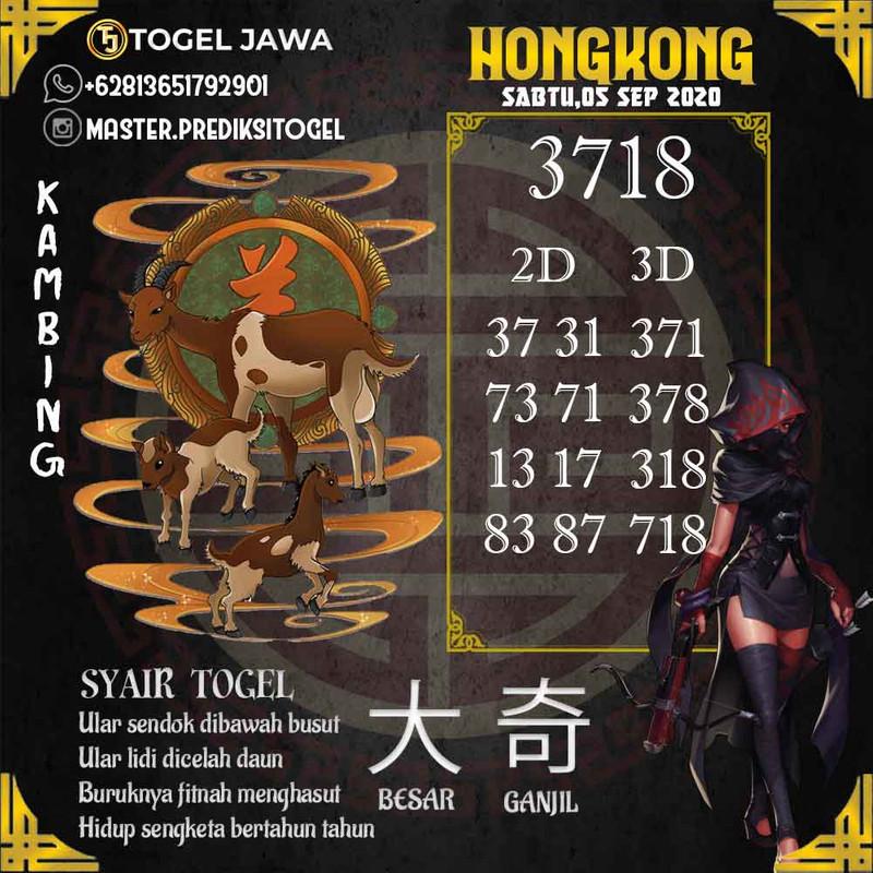 Prediksi Hongkong Tanggal 2020-09-05
