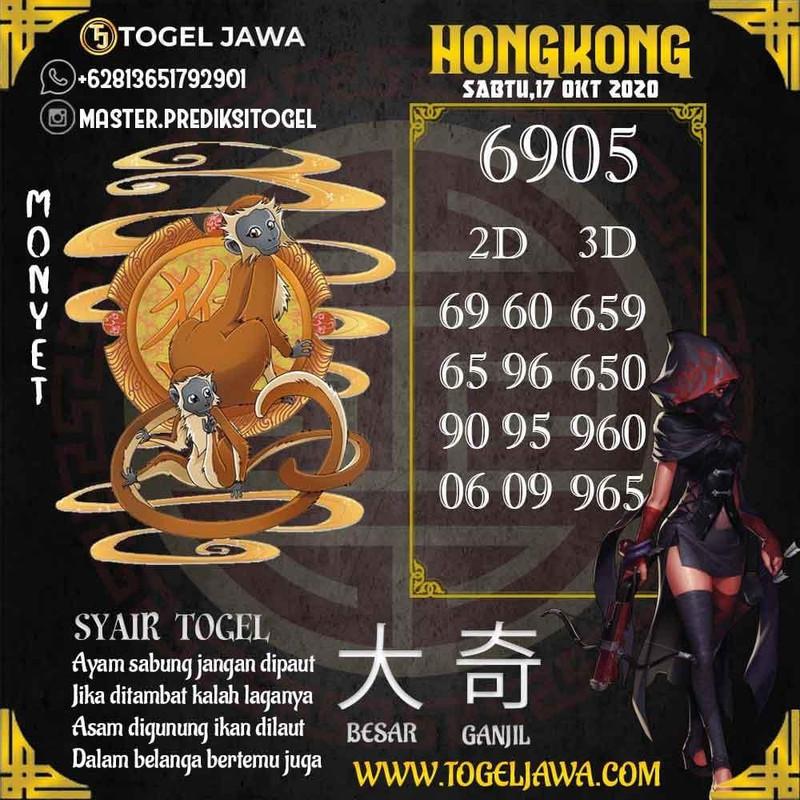 Prediksi Hongkong Tanggal 2020-10-17