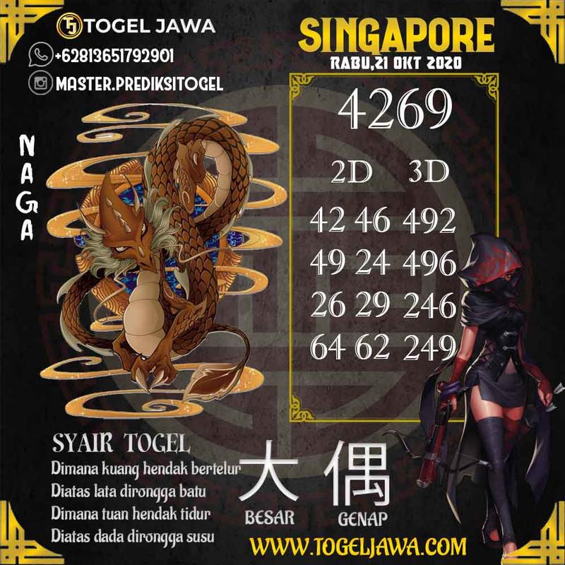 Prediksi Singapore Tanggal 2020-10-21