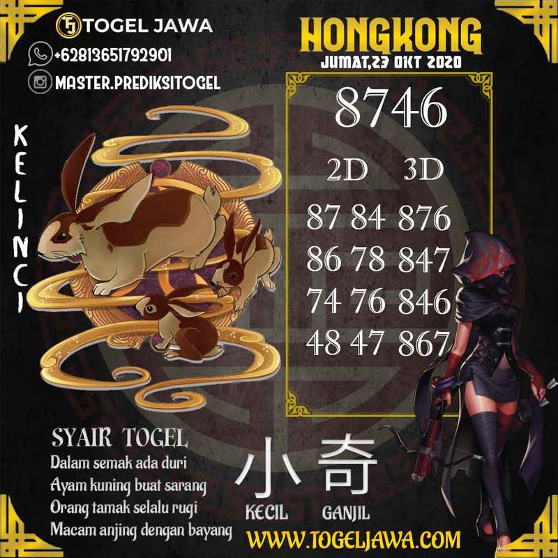 Prediksi Hongkong Tanggal 2020-10-23