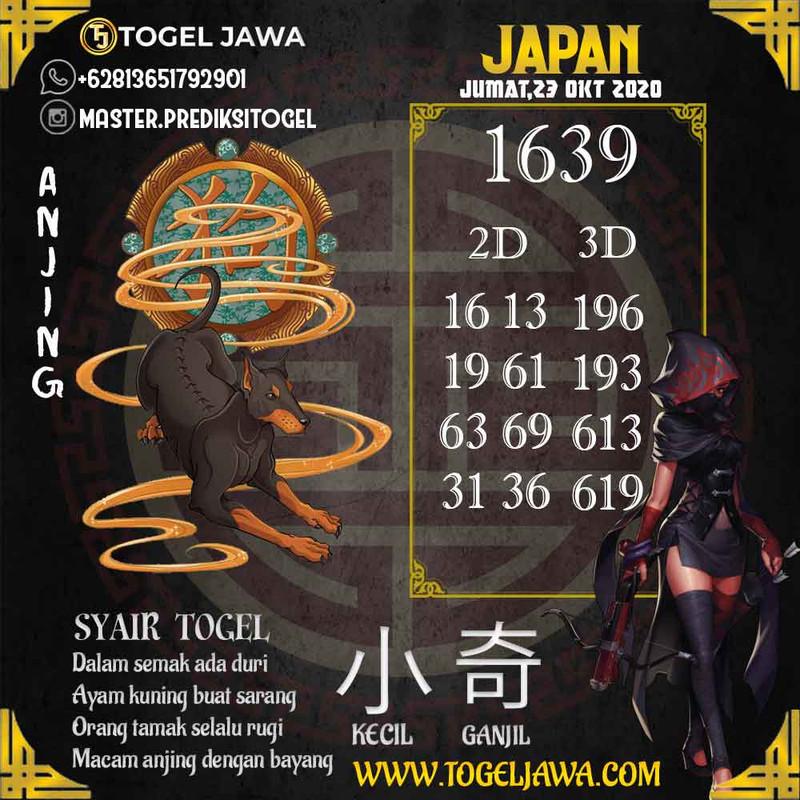 Prediksi Japan Tanggal 2020-10-23