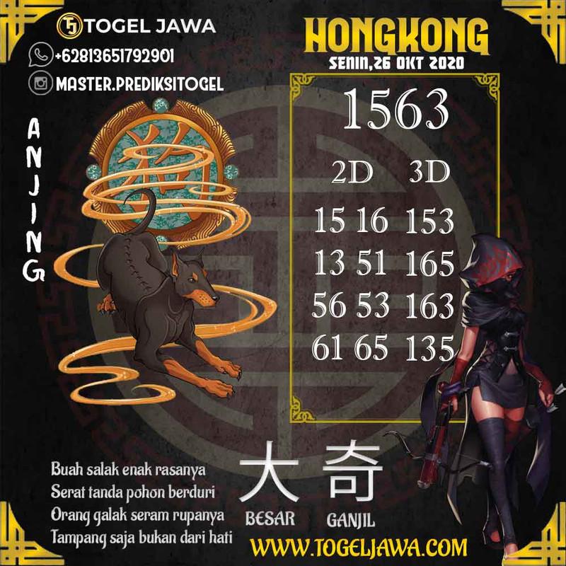 Prediksi Hongkong Tanggal 2020-10-26