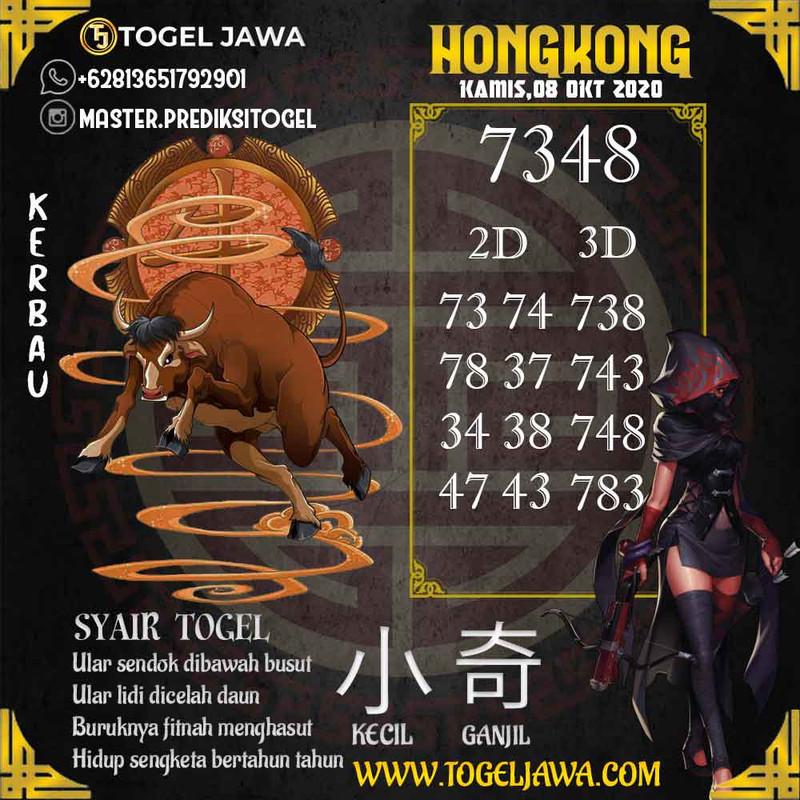 Prediksi Hongkong Tanggal 2020-10-08