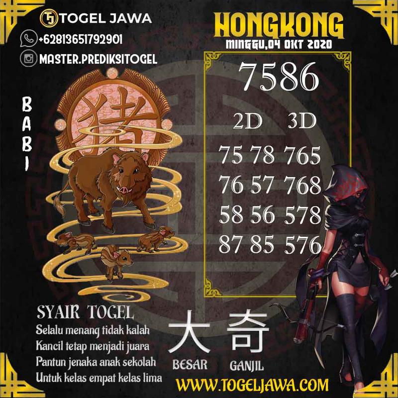 Prediksi Hongkong Tanggal 2020-10-04